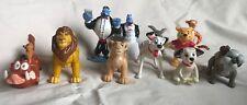 Disney Figurines Vinyl Plastic Lot Of 10