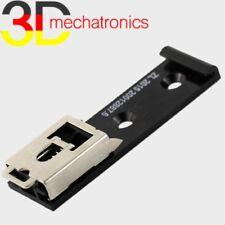 Hutschienen-Halter 35mm, Kunststoff schwarz, für DIN-Schienen, Halterung