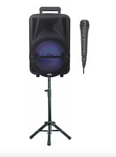 Wirelessly Portable Party Bluetooth Speaker with Microphone & Tripod Stand