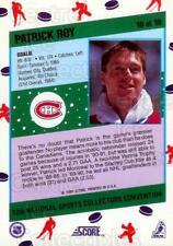 1991 Score National #10 Patrick Roy