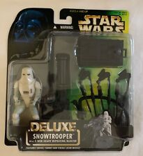 Star Wars Deluxe Snowtrooper with E-web Heavy Repeating Blaster