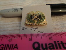 Quartermaster Corps V-21 Unit Crest, DI, DUI (DRAW#T13)