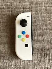 Nintendo Switch Left Joy Con Official Genuine In Custom White Replacement Shell