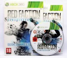 RED FACTION ARMAGEDDON COMMANDO E RICOGNIZIONE XBOX 360 USATO PAL ITA FR1 70093