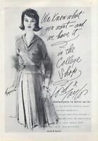 1960 Lord & Taylor  PRINT AD Women's fashion Ballantynes