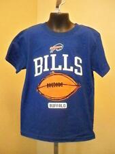 New-Minor Flaw-Buffalo Bills Kids Medium 5/6 Blue Shirt