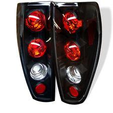 Chevy Colorado GMC Canyon 04-12 Black Euro Style Rear Tail Lights Set