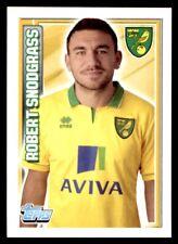Topps Premier League 2013 - Robert Snodgrass Norwich City No. 161