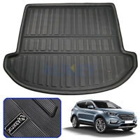 For Hyundai Santa Fe 7 seats 2013-2018 Boot Liner Trunk Cargo Mat Floor Tray