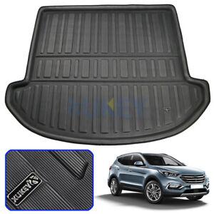 For Hyundai Santa Fe 7 seats 2013-2018 Boot Liner Trunk Cargo Mat Floor Tray
