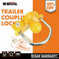 Trailer Parts Hitch Lock Coupling Universal Tow Ball Caravan Camping Anti Theft