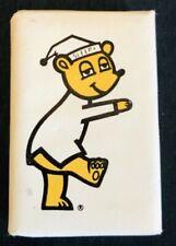 Vintage Travel Lodge Sleepy Bear Walking Theme Mini Soap Bar