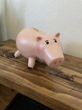 Toy Story Disney Store Hamm Piggy Bank RARE