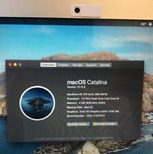Apple Macbook Air mid 2013. Excellent Screen Condition. Battery Count 4