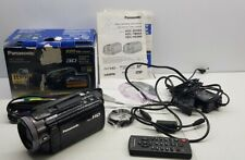 Panasonic camcorder HDC-HS900 high-definition video camera SD/HDD Hybrid 3Mos