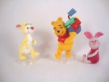DISNEY MICRO WORLD Winnie the Pooh 3 personaggi-SET PERSONAGGIO WINNIE Rabbit suinetti Set 3