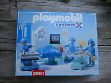 Playmobil 3981 HOSPITAL EMERGENCY ROOM SYSTEM X  one owner  very nice