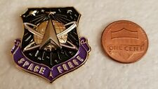 "SPACE FORCE 1.25"" LAPEL PIN"