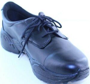 Rocky 911-100-1 Mens Black Leather Oxford Shoe Size 8W, 14W & 15W NEW WITH BOX