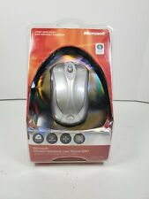 Microsoft Wireless Notebook Laser Mouse 6000  New