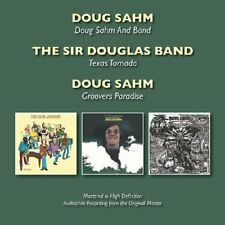 Doug Sahm - Doug Sahm And Band/Texas Tornado/Groovers Paradise [CD]