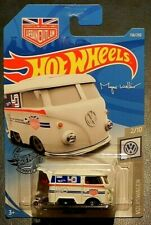 2019 HOT WHEELS Mattel Volkswagen 2 / 10 White Kool Kombi 136/250