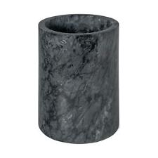 Wine Bottle Cooler Sleeve Marble Solid Stone Champagne Chiller Bucket Black