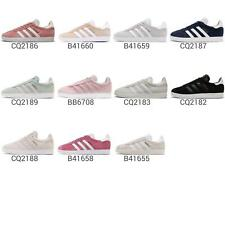 adidas Originals Gazelle Classic Womens Casual Shoes Vintage Sneakers Pick 1