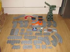 Thomas And Friends - Take n Play -Track Bundle And Play Set With Cranky & Train