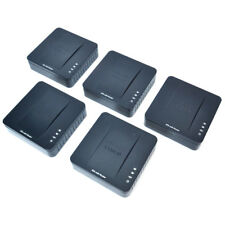 (Lot of 5) Cisco SPA122 ATA 2-Port Phone Adapter with Router 2x RJ-11 2x RJ-45