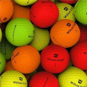 24 Wilson STAFF DX2 SOFT OPTIX Lake Golf Balls - PEARL / GRADE A - Ace Golf