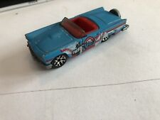 Rare 1988 Matchbox 1957 Ford Thunderbird Convertible - Hero City Sports / blue