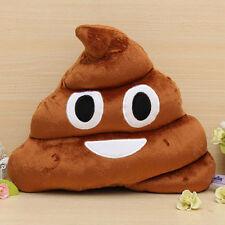 CellPhone poop shaped Message Icon Emoji POO Emoticon Soft Pad Cushion Pillow TE