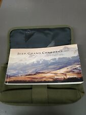 2001 JEEP GRAND CHEROKEE OWNER'S MANUAL