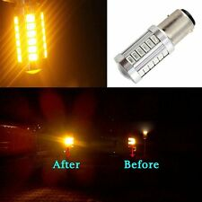 10x Amber 1156 BAU15S PY21W LED Daytime Running Light Orange Yellow Singnal Bulb