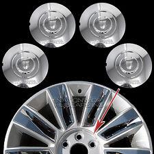 """15 2016 17 Cadillac Escalade 22"""" Chrome Wheel Center Hub Caps Lug Rim Cover Hubs"""