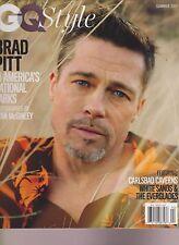 GQ Style Revista Verano 2017 , Brad Pitt