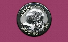 Morgus The Magnificent WWL New Orleans button / badge Cult Classic
