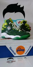 REEBOK PUMP SHAQ ATTAQ OG MONEY GREEN MEN SHOES SIZE 9 BRAND NEW WITH BOX $125