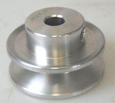 """Section aluminium POULIE 2 """" avec 1cm CALIBRE convenable pour TOUR PERCEUSE ETC"""
