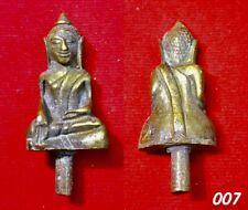 Phra Ayuttaya 200 Year Magic Thai Amulet Buddha Old Talisman Pendant RARE 007