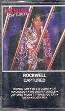 "K 7 AUDIO (TAPE)  ROCKWELL ""CAPTURED"" (NEUVE SCELLEE)"