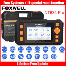 NT634 OBD2 Scanner Engine ABS SRS Transmission Scan Special Function Foxwell