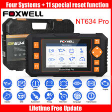 FOXWELL OBD2 Diagnostic Scanner ABS SRS TPMS Oil Reset GEAR Learning 4 System