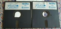 "Disney's Black Cauldron Sierra 1985 5.25"" IBM PC Floppy Disk 2x BCL 651"