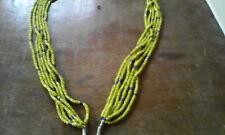Parure-ceinture de reins, portée en Afrque de l'Ouest, 6 brins de perles.