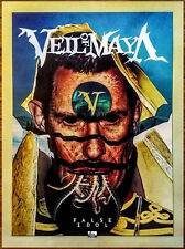 Veil Of Maya False Idol Ltd Ed New Huge Rare Poster & Sticker +Free Metal Poster
