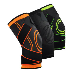 2PCS Sports Kneepad Pressurized Elastic Knee Pads Support protector Cycling knee