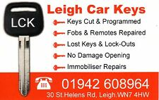 North West UK, remote fob for most makes Audi, VW, Skoda, Seat, BMW, Landrover