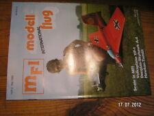 MODELL FLUG revue modélisme avion en allemand 5/1986